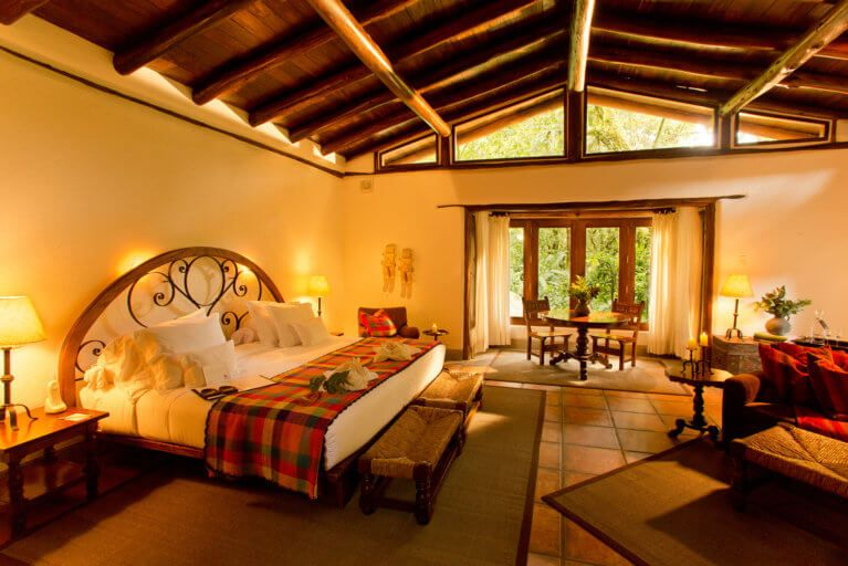 Luxury Suite at the Inkaterra Hotel in Machu Picchu