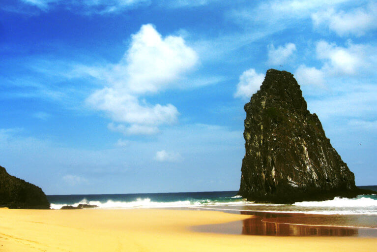 Fernando de Noronha beach during private Brazil tour