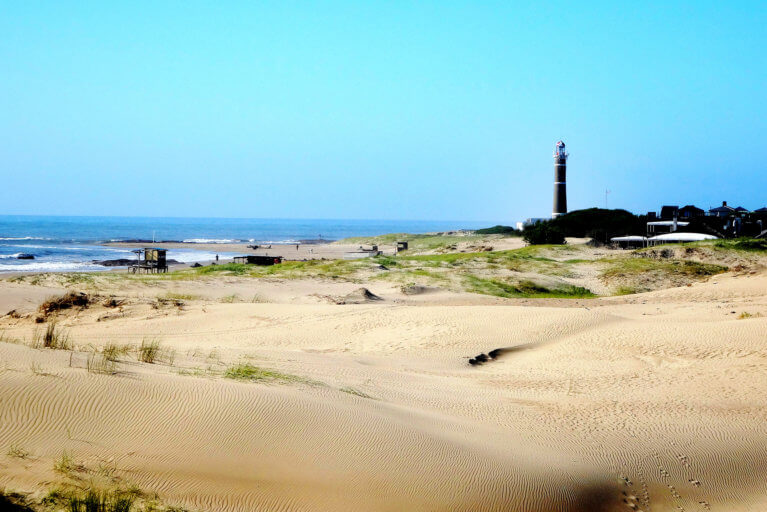 Jose Ignacio lighthouse during luxury uruguay trip