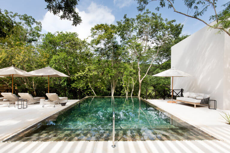 Luxury spa at Chable Resort during an exclusive trip to the Yucatan