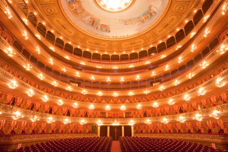 Interior of Teatro Colon in Buenos Aires on an exclusive Argentina tour