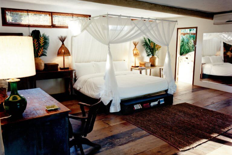 Luxury suite at Uxua Hotel in Bahia