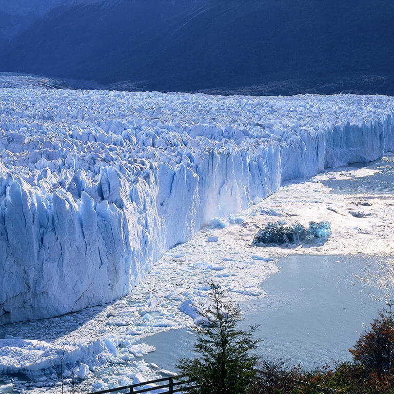 Perito Moreno glacier in patagonia during luxury argentina trip