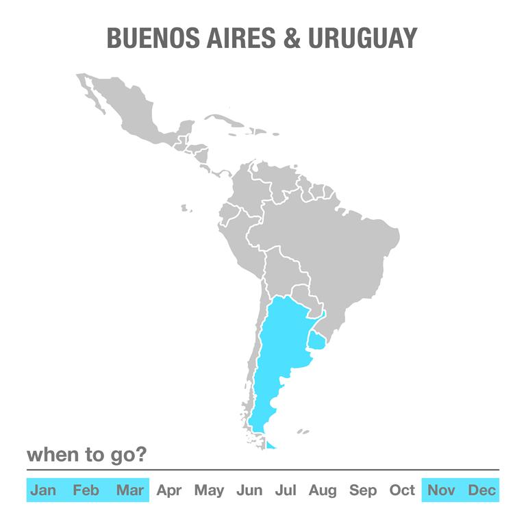 Luxury Tours Buenos Aires & Uruguay