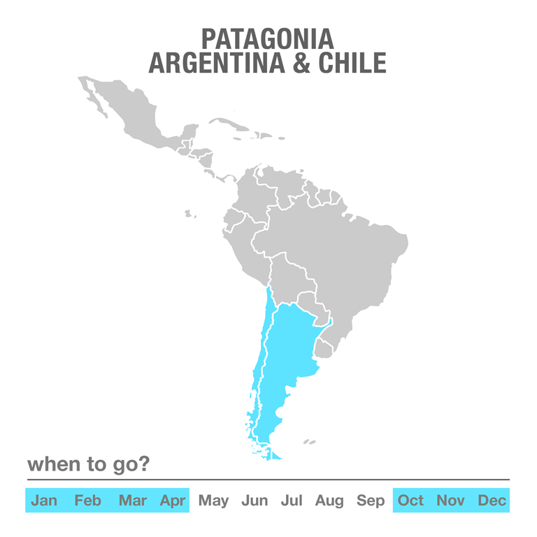 Luxury Tours Patagonia, Argentina & Chile