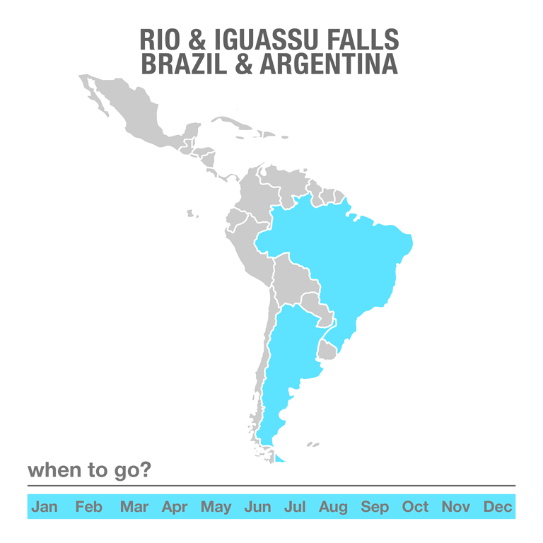 Luxury Tours Rio & Iguassu Falls