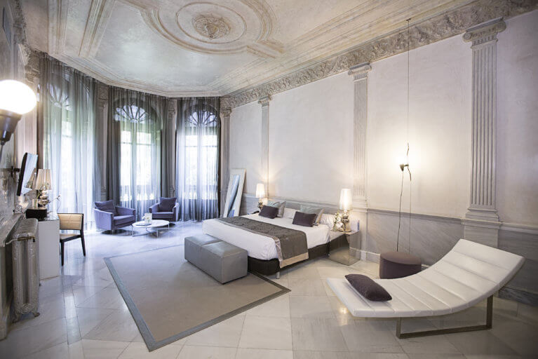 Junior Suite at Palacio de los Patos during a luxury Spain tour