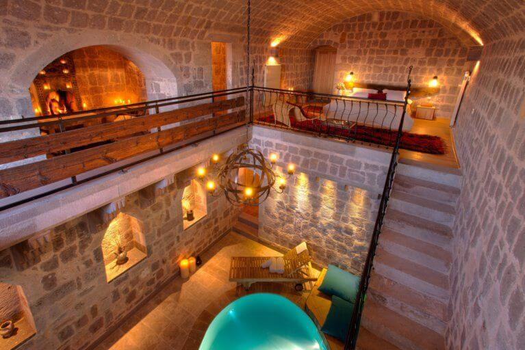 Hotel Argos in Cappadocia during luxury Turkey tour