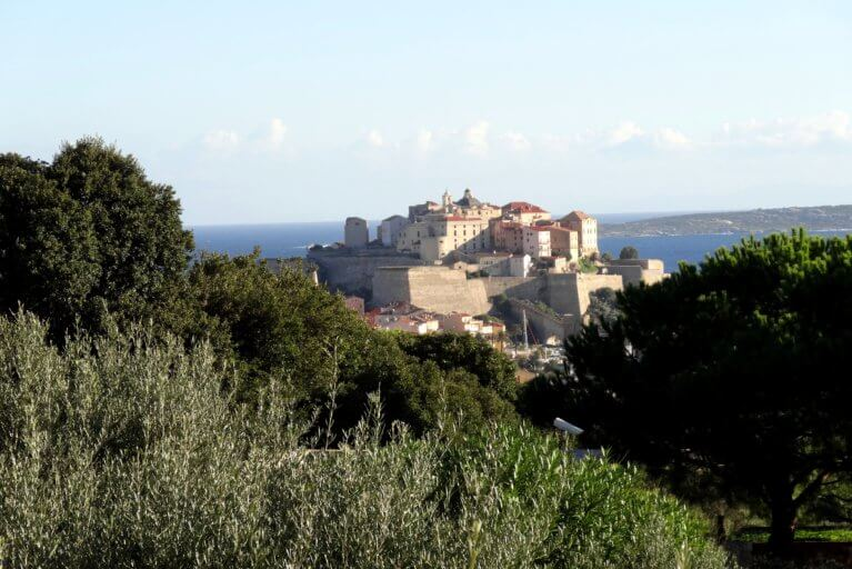 Fortress of Calvi during luxury Corsica tour