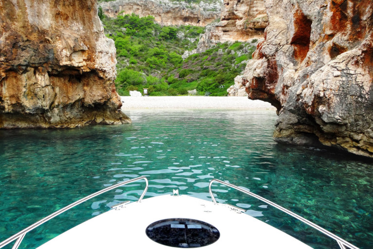 Private boat excursion during luxury Croatia tour