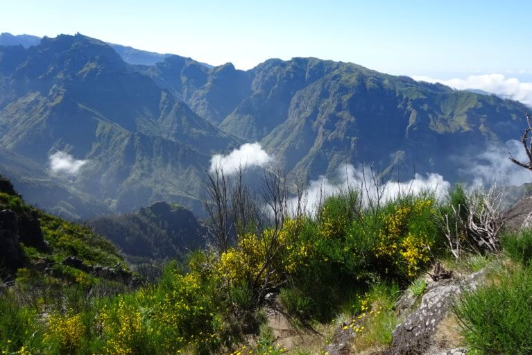 Madeira mountain views during a luxury Portugal tour