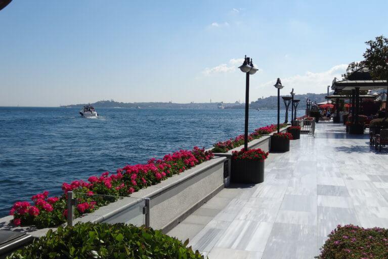 Bospherus River views during private Turkey tour