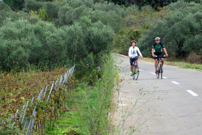 Private biking tour in Croatia during luxury Adriatic trip