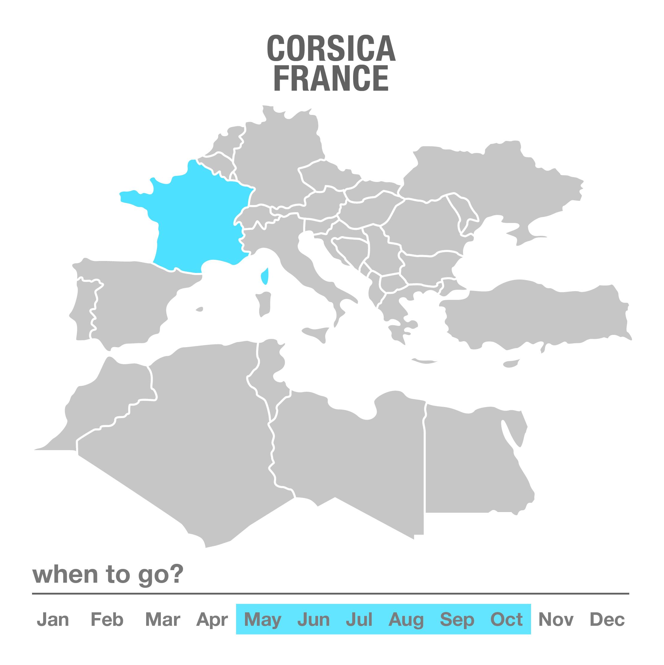 Luxury Tours Corsica, France