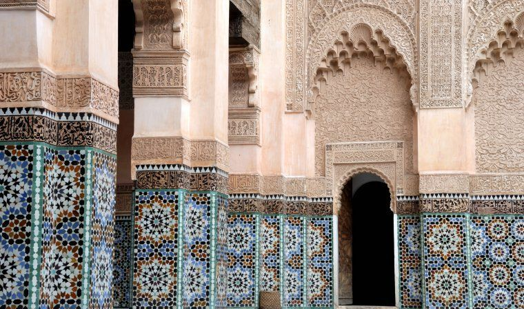 Koutoubia Mosque during luxury Morocco tour