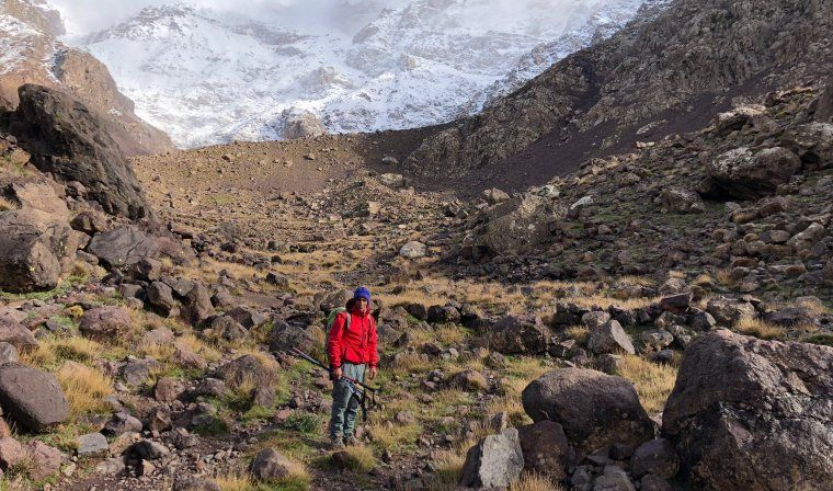 Mount Toubkal National Park during private Morocco trip