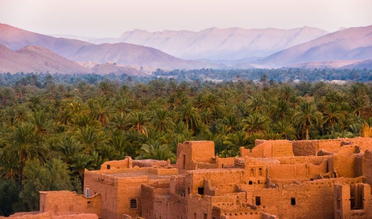 Views of Ouarzazate during luxury Morocco tour