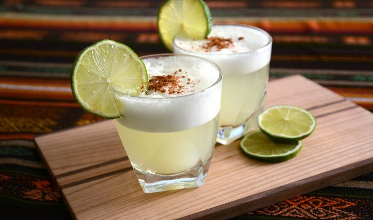 Pisco sours during luxury peru trip
