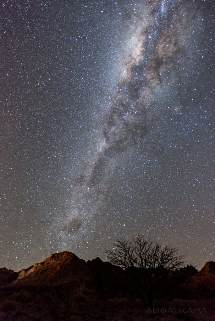 Stargazing in Atacama during luxury Chile tour