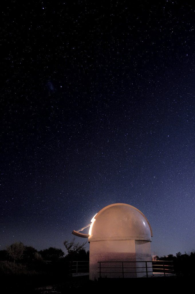 Observatory in Atacama during luxury Chile tour