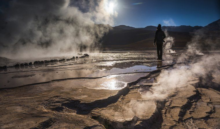 El Tatio Geyser during private Chile tour