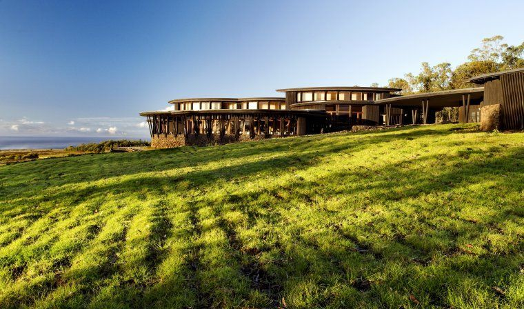 Explora lodge in Easter Island during luxury Chile tour