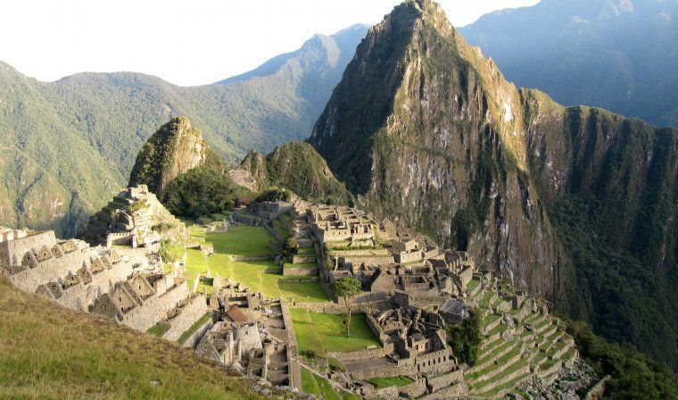 machu picchu during luxury peru tour
