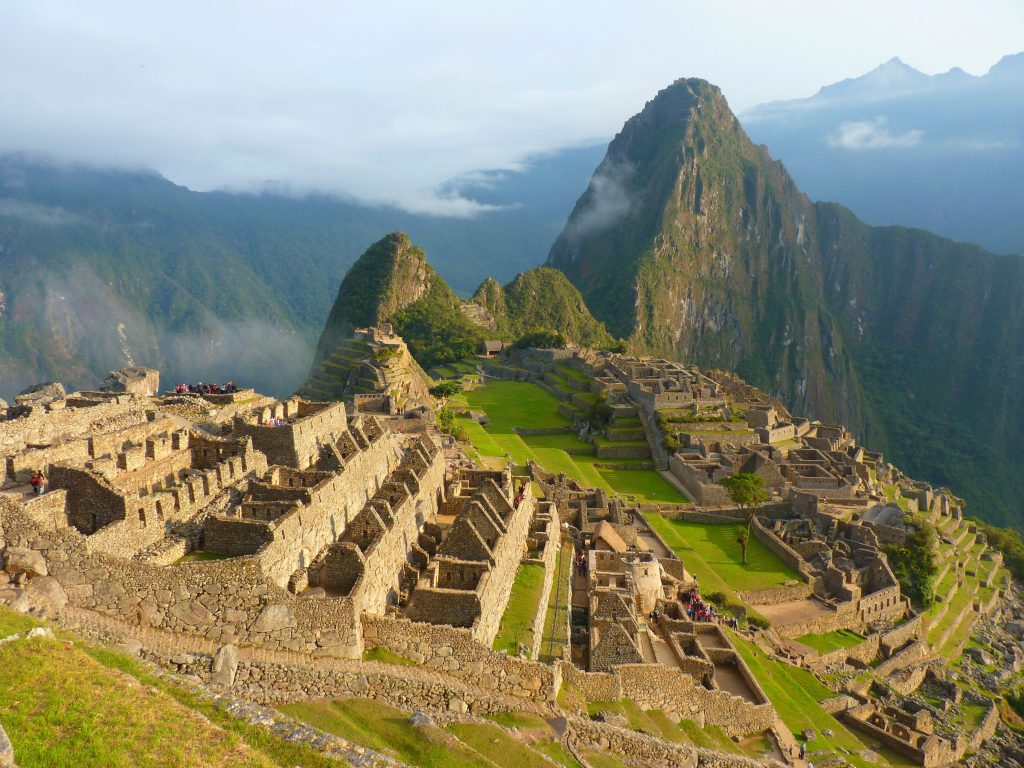 Machu Picchu as seen during luxury Peru tour